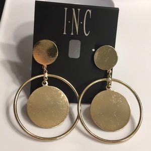 ✨NEW I.N.C  ✨Earrings in Gold Tone